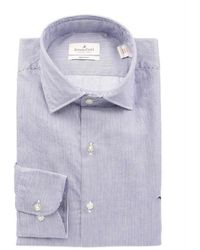 Tod's Slim Fit Shirt - Blauw