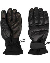 Moncler Gloves - Nero