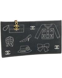 Chanel Vintage Clutch Bag - Zwart