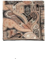 Etro Patterned Scarf - Naturel