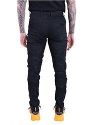 Elvio Zanon - Jeans Negro - Lyst