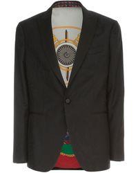 Etro Slim Jacket - Zwart