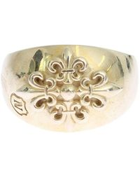 Nialaya Silver Crest 925 Sterling Ring - Grijs