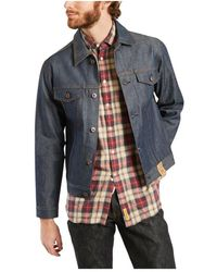 Naked & Famous Selvedge Jeans Jacket - Blauw
