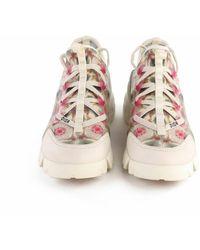 Dior Zapatos deportivos Kaleidiorscopic D-Connect de segunda mano Beige - Neutro