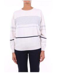 Peserico - Crewneck Knitwear - Lyst