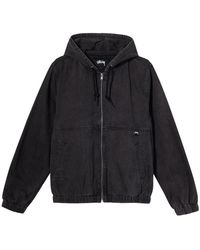 Stussy Work Denim Jacket - Zwart