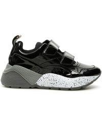 Stella McCartney Velcro Eclypse Sneakers - Zwart