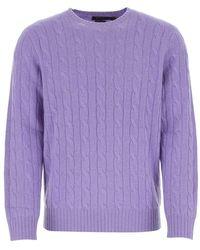 Polo Ralph Lauren Knitwear Sweater - Paars