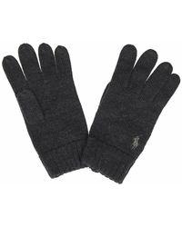 Ralph Lauren 710761416004 Wool Gloves - Grijs
