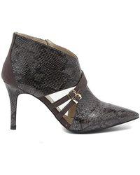 CafeNoir Pitonato Pinta Shoes Gris