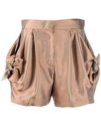 Emporio Armani Bow Shorts - Bruin