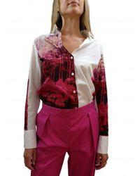 Paul Smith Pantalon Large Pinces - Roze
