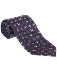 Lacoste Necktie Tom - Blauw