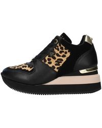 Tom Ford F0highrun01/leo Sneakers With Wedge - Zwart