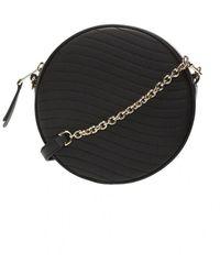 Furla Swing quilted shoulder bag - Schwarz