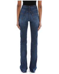 Elisabetta Franchi Jeans Azul