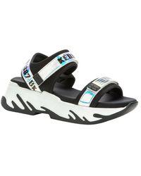 KEDDO Casual Wedge Sandals - Weiß