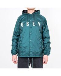 Obey - Anyway Jacket - Lyst