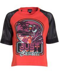 Just Cavalli T-shirt - Rouge