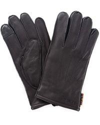 Barbour Baacc1916 Handschoenen Heren - Zwart