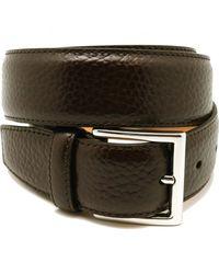 Crockett & Jones Cinturon - Marron