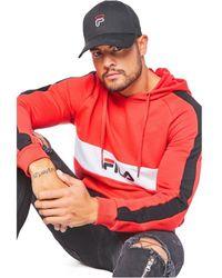Fila Sweat à capuche 687033 jeremy Rojo