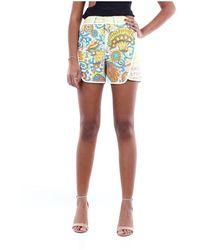 Lanvin Rwtr505K4338 Mini Shorts - Neutre