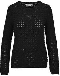 Comme des Garçons Kleding Knitwear Rfn009051w - Zwart