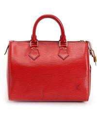 Louis Vuitton Speedy 25 Bag - Rouge