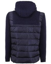 Bark Padded Jacket - Bleu