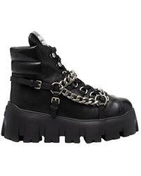 Miu Miu Ankle Boots 5t570dfm070 - Zwart