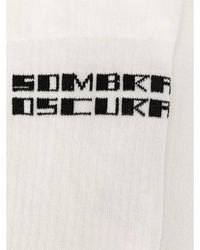 Rick Owens Socks - Blanc