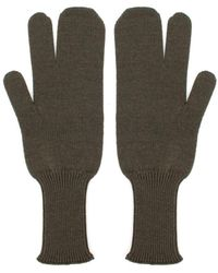 Maison Margiela Gloves Verde