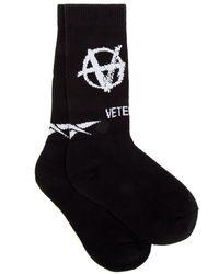 Vetements Socks - Noir