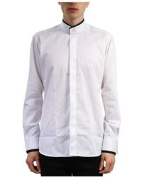 Karl Lagerfeld Camicia smoking - Bianco