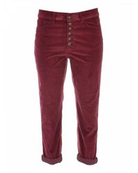 Dondup Jeans - Rood