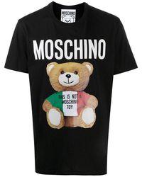Moschino T-shirt teddy - Noir