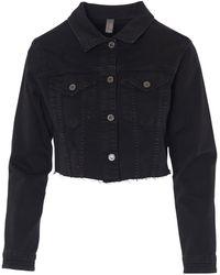 Souvenir Clubbing Coat - Negro