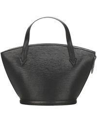 Louis Vuitton Epi Saint Jacques PM cinturino corto in pelle - Nero
