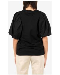 MSGM T-shirt and Polo - Noir