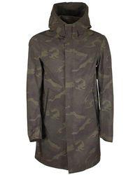 Herno Camouflage jacket - Verde