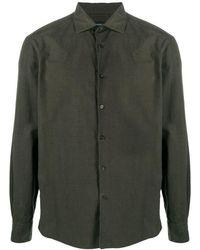 Ermenegildo Zegna Shirt Ml - Groen