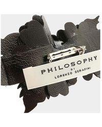Philosophy Di Lorenzo Serafini Spilla Floreale - Zwart