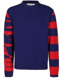 Marni Sweaters - Blu