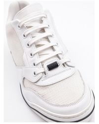 Dior Leather Sneakers Blanco