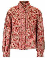 Forte Forte 8404love0064 jacket - Rouge