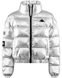 Kappa La Boltan 304nri0 920 Down Jacket - Grijs