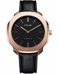 D1 Milano Watch - D1-ssll02 - Zwart