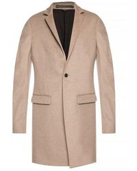 AllSaints 'Bodell' high collar coat - Neutre